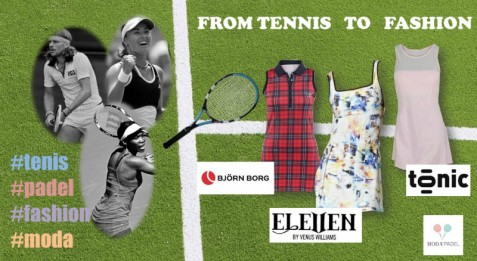 FROM TENNIS TO FASHION