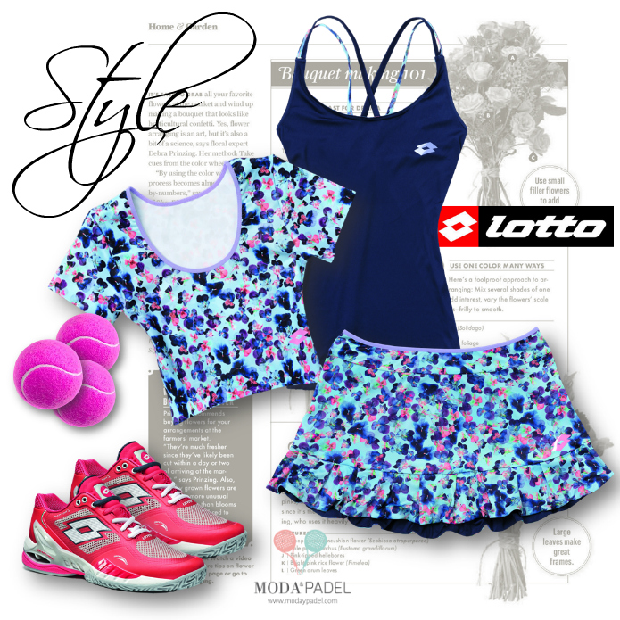 lotto apparel blog moda padel