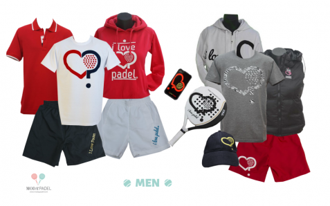 ILOVEPADEL men