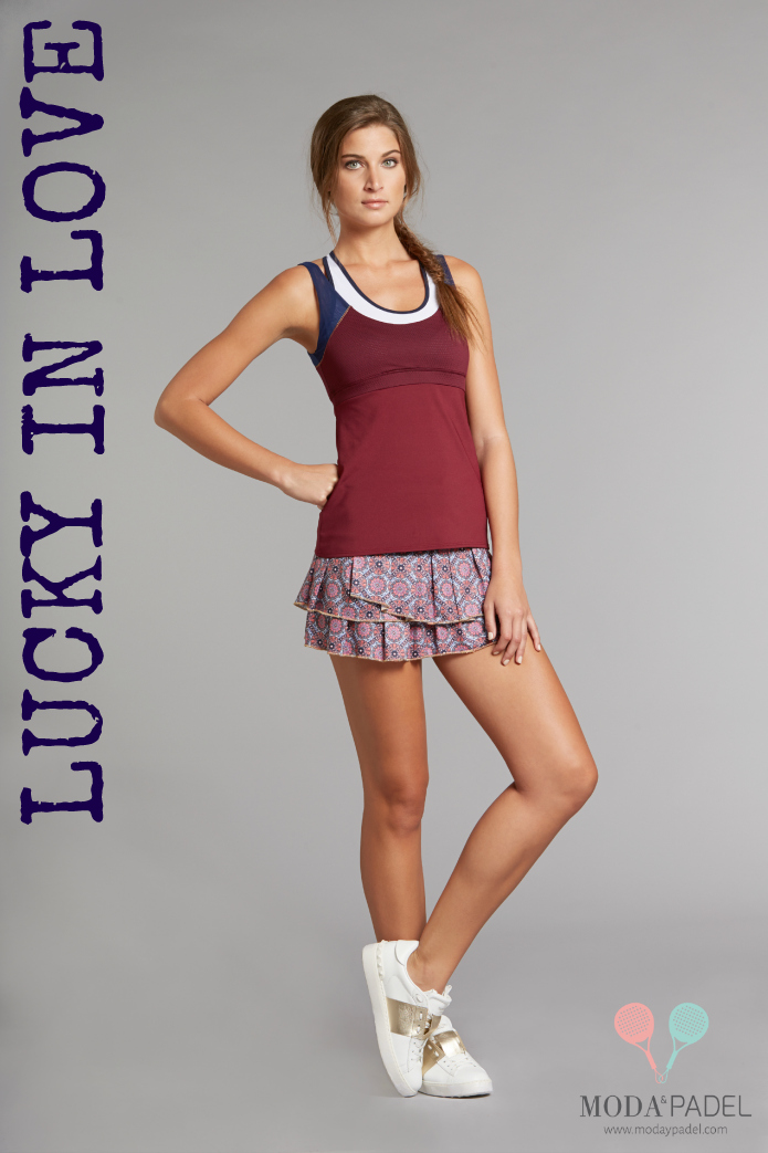 LUCKY IN LOVE TENNIS CLOTHES