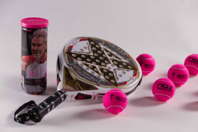comprar bolas padel rosas